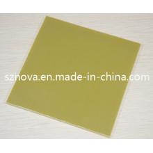 Hoja aislada laminada de fibra de vidrio epoxi (G11 / FR5)