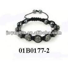 Kits de perles de mode bracelet shamballa