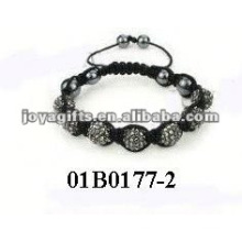 Fashion bead kits shamballa bracelet