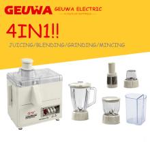 Processeur de nourriture des ménages 4in1 300W avec le broyeur de presse-fruits de mélangeur (KD-380AS)