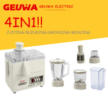 4in1 300W Household Food Processor com Blender Juicer Grinder (KD-380AS)