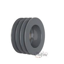 Taper Bore Pulley Wheel de Iron Cast