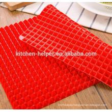 Origin Factory Price Food Grade Baking Mat Fry Silicone Backing Mat