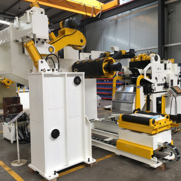 Nc Servo Feeder et Uncoiler Making Car Parts