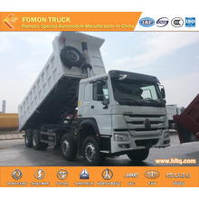 SINOTRUK 8X4 RHD HOWO Dumper Lorry 40tons