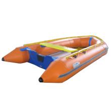Gran barco de salvamento rápido inflable