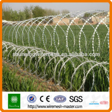 Alibaba Metal Razor Barbed Wire low price concertina razor barbed wire for sale