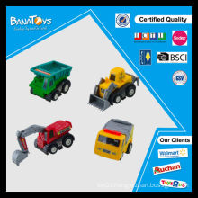 New design cartoon mini pull back toy truck