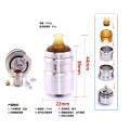 Zephyr V2 E-Cigarette Atomizer for Vapor with Box Package (ES-AT-089)