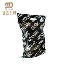 Reißfestes kundenspezifisches einzigartiges Entwurfs-PET / Polyäthylen-Hochleistungs-Polymailer-Tasche mit gestempelschnittenem Griff