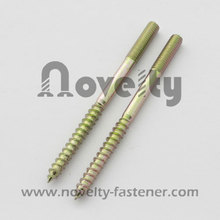 Wood Thread Double Screw