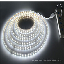 100M/Lot Outdoor Ip65 Waterproof 220V Led Strip 5630 5050 SMD White Warm White Led Tape