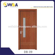 China fabricante Cerámica sólida Puerta interior / Puertas de plástico compuesto de madera