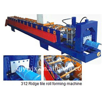 QJ ridge cap roll forming machine