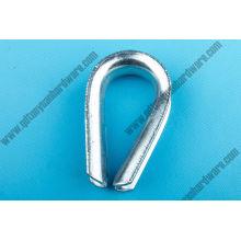 China Manufacturer Rigging Hardwareg-411 Wire Rope Thimble