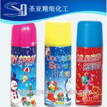 White Color Snow Spray 250ml de diferente color