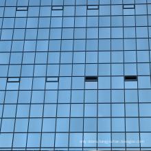 WANJIA exterior cladding facade glass curtain wall