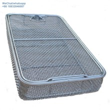 Stainless Steel Medical Sterilizing Disinfection Basket