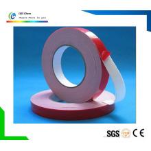 PET / Foam / Papier / Tissu / Fibre de verre Double Side Transfer Backing / Bande adhésive sans fondement