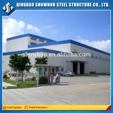 Pré-fabrication de structure en acier usine de conception de hangars industriels à vendre