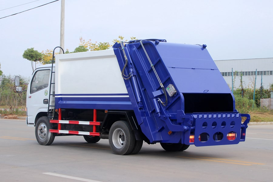 Press Pack Garbage Truck Price