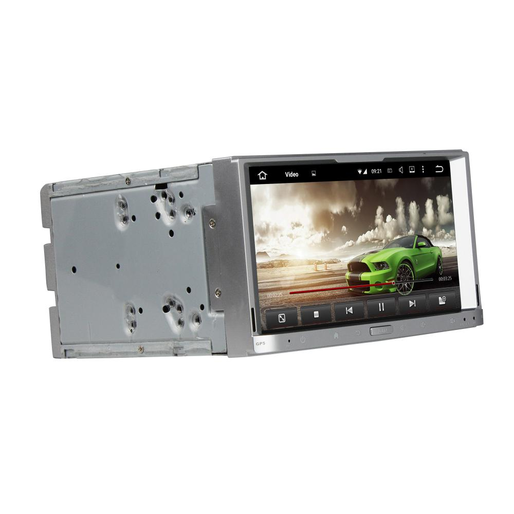 Touch silver universal car dvd player