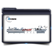 AL/PL/AL Blister (tropische Blister) Verpackung Kartonierung Produktionslinie