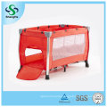 Hot Sale Aluminum Simple Comfortable Baby Crib with Double Cot Bed (SH-A8)