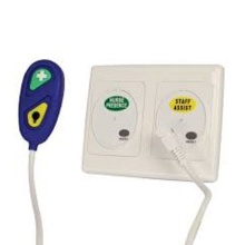 Wired nurse call two buttons with 3m cable
