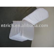 Couverture de chaise Lycra plissé, couverture de chaise de Banquet/hôtel