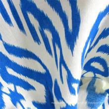 Tecido de vestido fiado de rayon mais recente