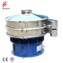 Peneiras vibratórias que separam o equipamento de separação