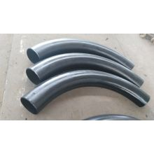 Black Painted Weld Steel LR Elbow Fittings