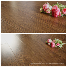 12mm Oak Walnut Water Proof Waxed U-Groove Laminate Flooring for Russian Market