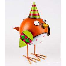 Decoración adorable del diseño de los gallos del metal adorable del OEM