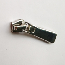 Stainless Steel Color Metal Zipper Slider Non-lock