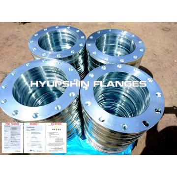 Cold galvanized flange electro galvanized steel flange