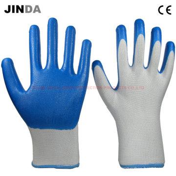 Перчатки нейтрил-нейлоновые рабочие (NS018)