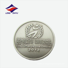 Conselho esportivo emblema de lapela de metal estampado personalizado