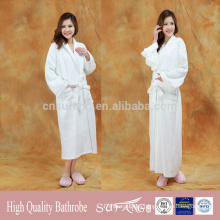 high quality wholesale luxury hotel 100% cotton waffle bathrobe