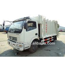 DongFeng veículo compactador de lixo (6 cubo)