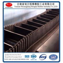 Corrugated Sidewall Leather Belts, Wave Shape Sidewall Conveyor Belt, Rubber Belt