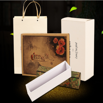 High-quality and elegant durable universal kraft paper box.