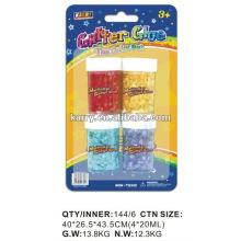 Cola glitter 20ml, conjunto de energia glitter, produtos de bricolage