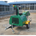 30HP diesel engine self power wood chipper
