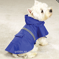 Wholesale High Visibility Dog Apparel Pet Clothes Waterproof Reflective Tape Dog Rain Coat With Elastic