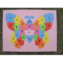 Ручной работы 3D Eva пены головоломки Наклейки самоклеющиеся Ева ремесла игрушки обучения & образования игрушки