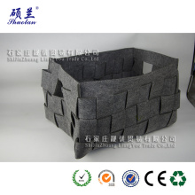 Good quality customized felt storage bag basket