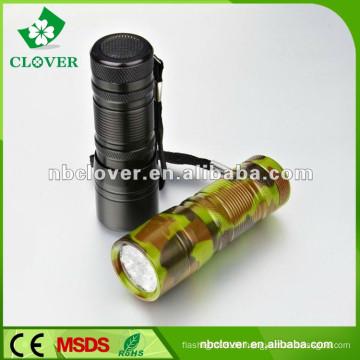 Notfall Verwendung Promotion 12 LED Mini Aluminium LED Taschenlampe Fackel