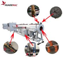 HDPE pipe vacuum calibration bath